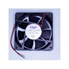 Вентилятор RQD 12038MS 24VDC (120х120х38  0,20А( пл.корпус)