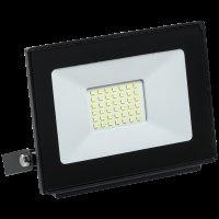 Прожектор светодиодный СДО 06-30w 6500K чер.