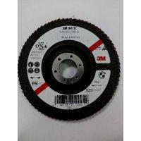 круг лепестковый торцевой  P-60 125х22,2 3М 947D