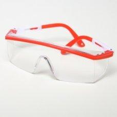 Очки защитные прозрачные JL-D014 - 1 (цветные дужки)