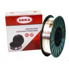 Проволока омедненная ф0,8мм (5кг) DEKA