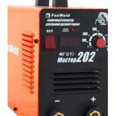 Сварочный инвертор Master 202 (8кг, комплект, пр-во FoxWeld)