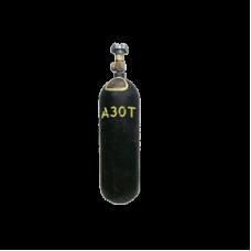 Баллон азотный 5л переаттестованый с вентилем ВБМ-95 (маленькая резьба)