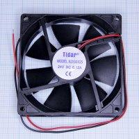 Вентилятор RQD 9225MS 12VDC (92х92х25  0,20А)