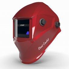 Маска сварщика хамелеон START СOMFORT АСФ 505 (красный глянец)