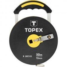 Рулетка, стекловолокно 30 м, Topex