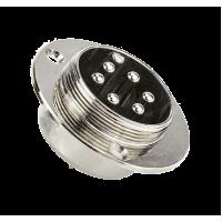 Разъем панельный START MIG 3500/5000 6 pin. STMP5006
