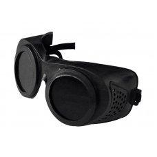 Очки газосварщика ЗН Г2 круглые JL-A019 (мягкий корпус, на резинке)