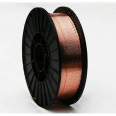 Проволока омедненная ER70S-6  ф 0,8мм (5кг) GOODEL