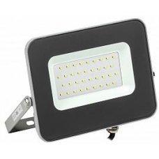 Прожектор светодиодный СДО 07-30w 2400 Лм серый